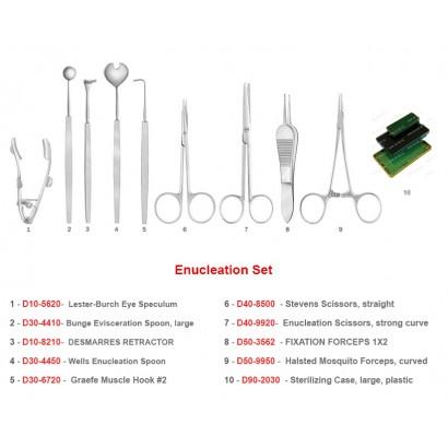 Enucleation Set