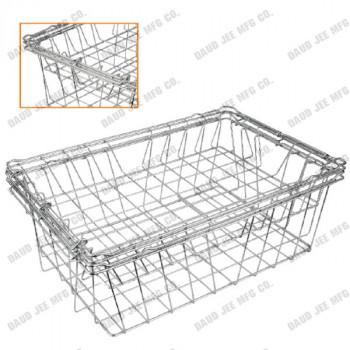 DJ-6010-SPRI Baskets - Bouble Frame with folding Handles