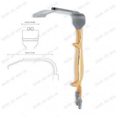 DJE-1625-Tebbetts Fiber Optic Breast Retractor